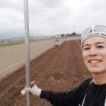 里芋の種イモ掘り