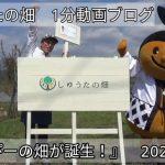 うきぴーの畑が完成!(2020/3/25)